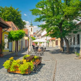 Szentendre – the famous picturesque artist town situated on the bank of the Danube